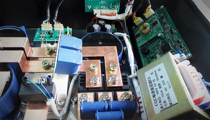 10,电路板采用rous 5oz d/s fr4 双面板喷锡板   商用电磁炉的制作